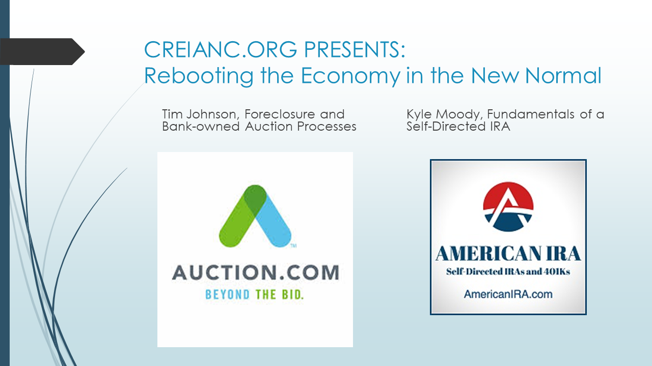 Auction.com and American IRA